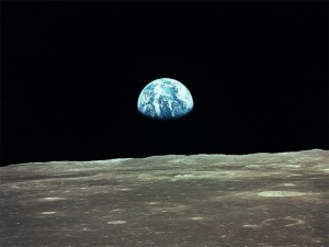 Ay'dan Dünya'nın görüntüsü